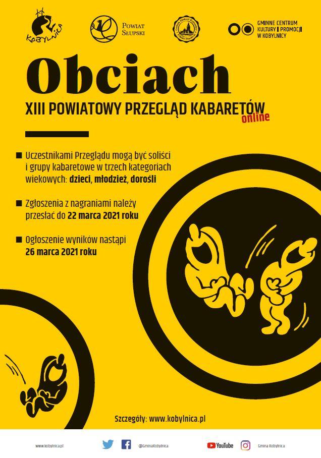 GCKiP w Kobylnicy zaprasza do przeglądu kabaretów